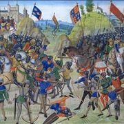 Picture Of Battle Of Crecy Froissart