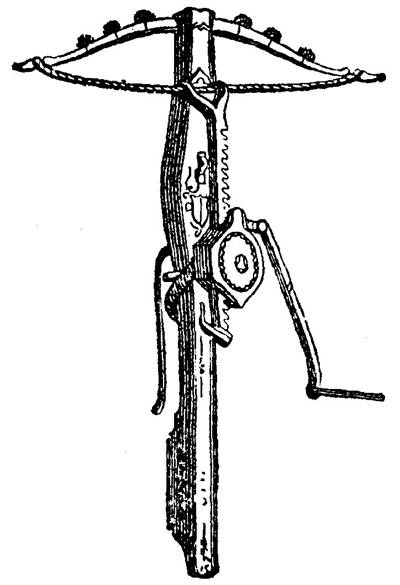 Picture Of Cranequin Of Crossbow