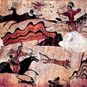 Picture Of Korean Horse Back Archery In 5th Century