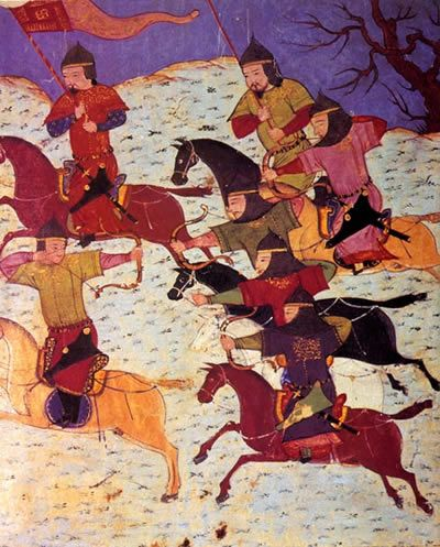 Picture Of Mongol Archers
