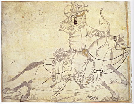 Picture Of Mongol Ilkhanid Horse Archer