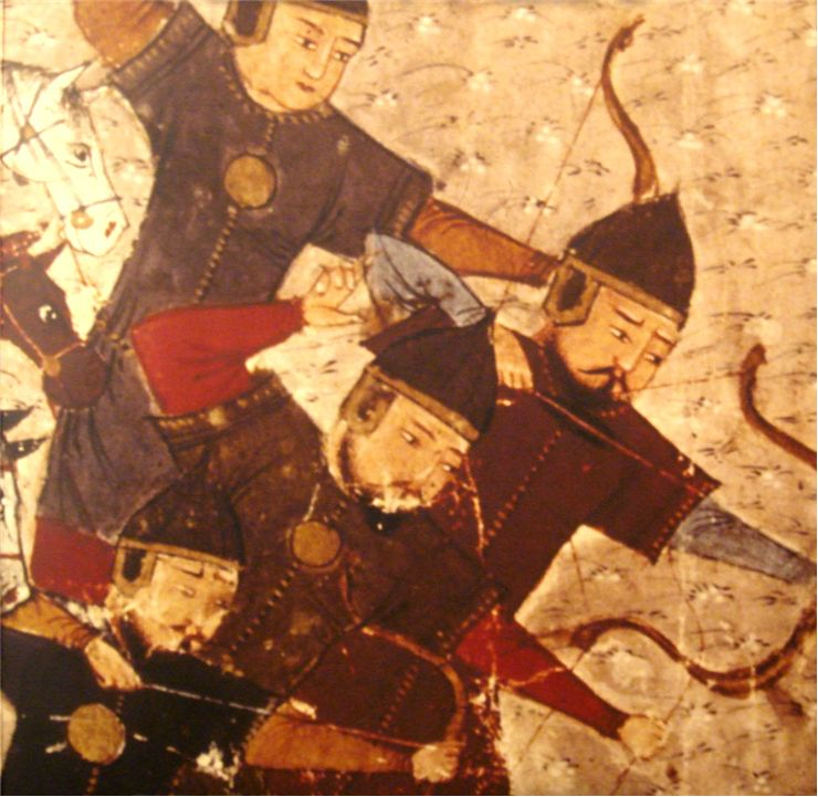Picture Of Mongol Soldiers With Bow And Arrow 1305