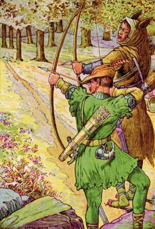 Picture Of Robin Hood Archer